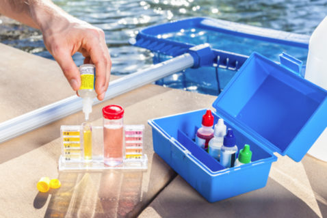 The Right Balance of Pool Chemicals