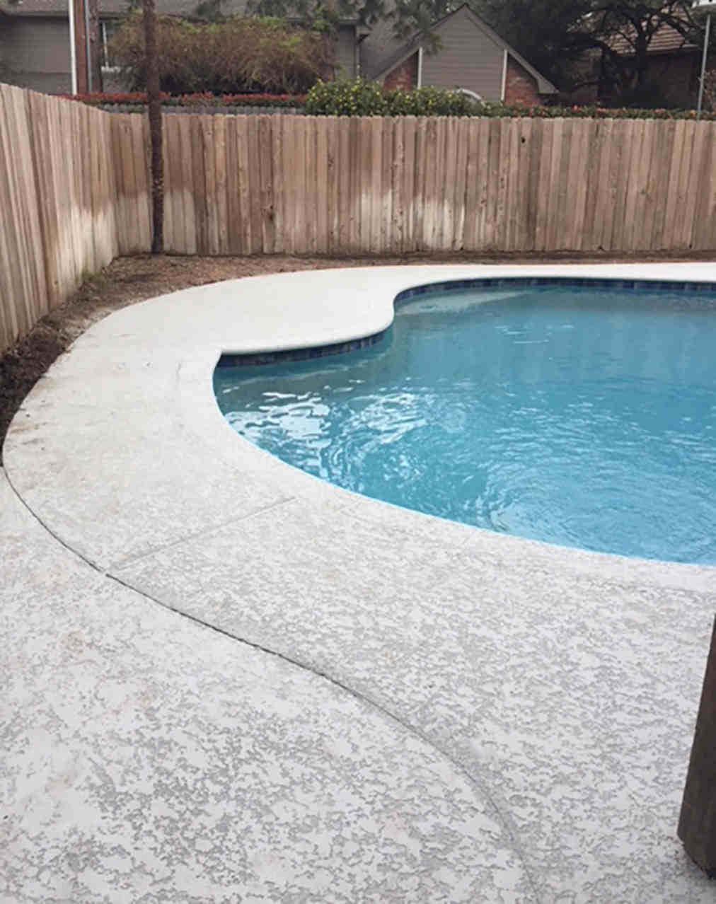 Pool Deck Repair After