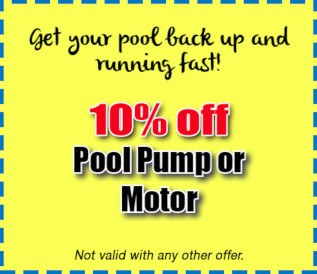 10% Off Pool Pump or Motor